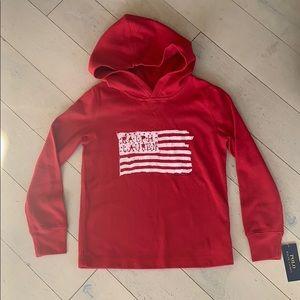 NWT Polo Ralph Lauren hooded thermal shirt